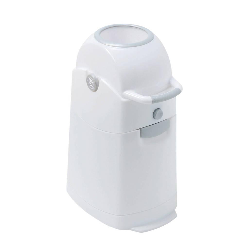 Diaper Champ Classic reukloze luieremmer regular, White-Silver