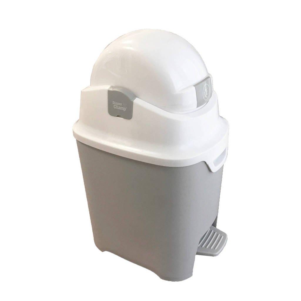Diaper Champ reukloze luieremmer, Silver - White