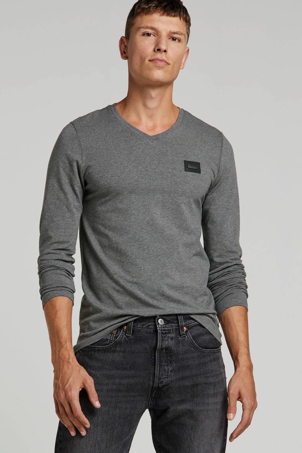 Purewhite T-shirt grijs, Grijs