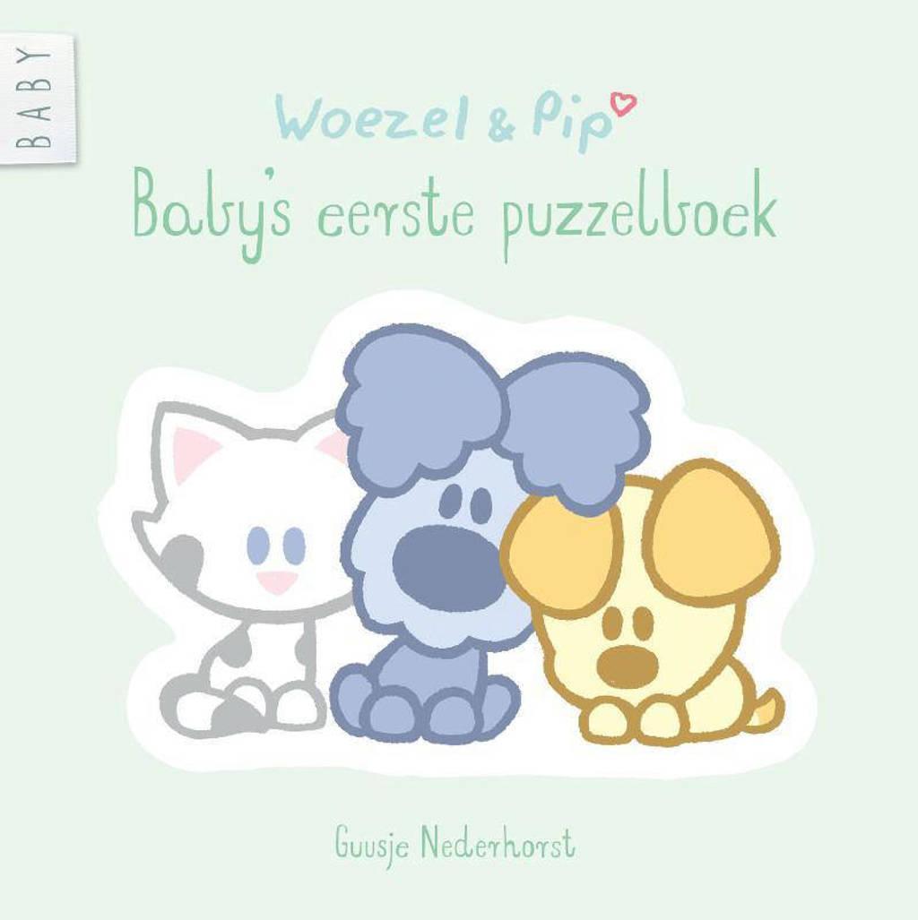 Woezel & Pip: Baby's eerste puzzelboek - Guusje Nederhorst en