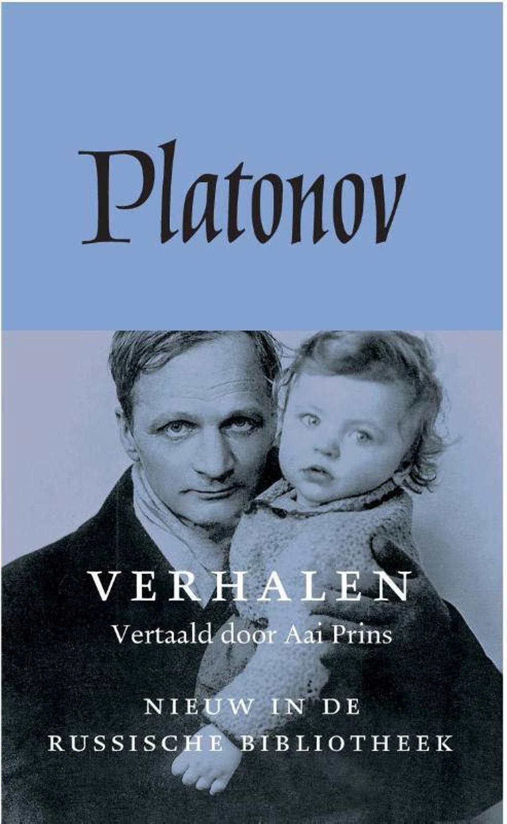 De Russische bibliotheek: Verhalen - Andrej Platonov