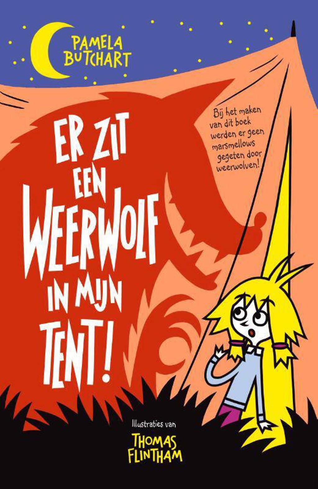 Er zit een weerwolf in mijn tent - Pamela Butchart