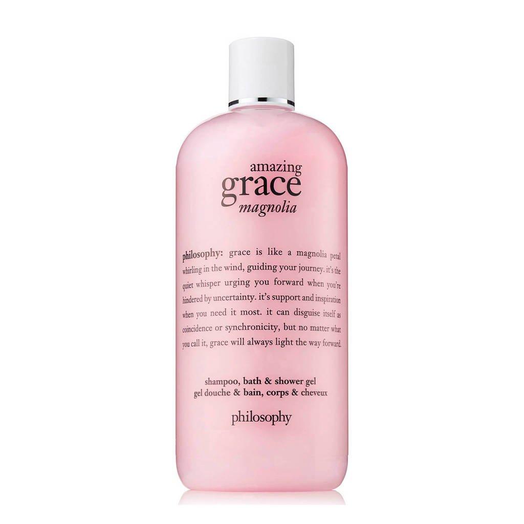 amazing grace magnolia shower gel - 480 ml