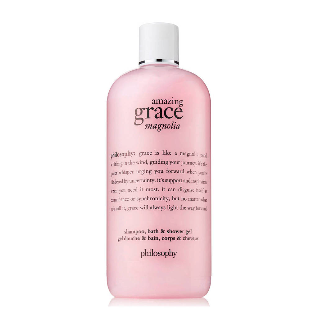 philosophy amazing grace magnolia shower gel - 480 ml