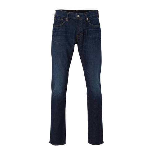 Kings of Indigo straight fit jeans Ryan dark worn