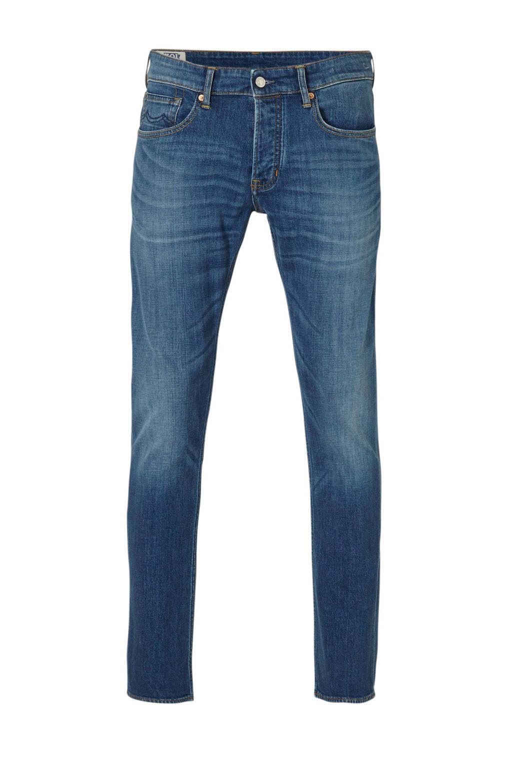 Kings of Indigo straight fit jeans Ryan mid indigo, Mid indigo