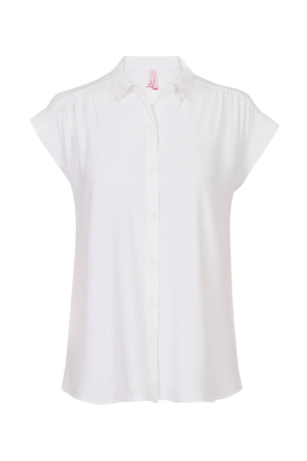 Miss Etam Regulier blouse wit, Wit