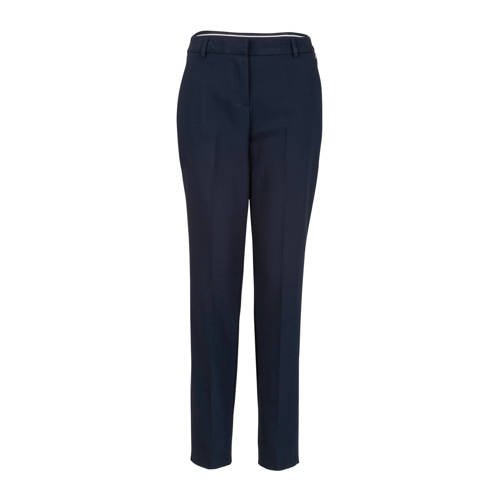 Steps straight fit pantalon blauw