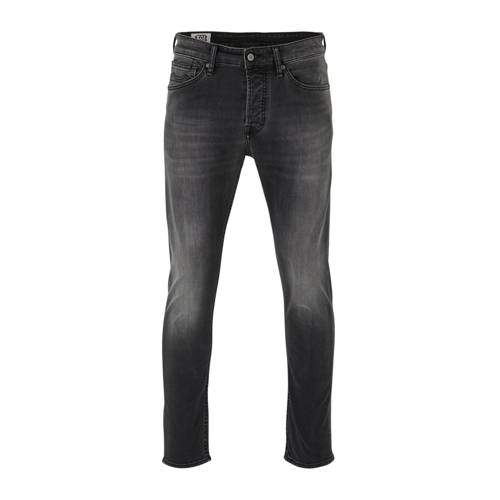 Kings of Indigo slim fit jeans John grey worn in