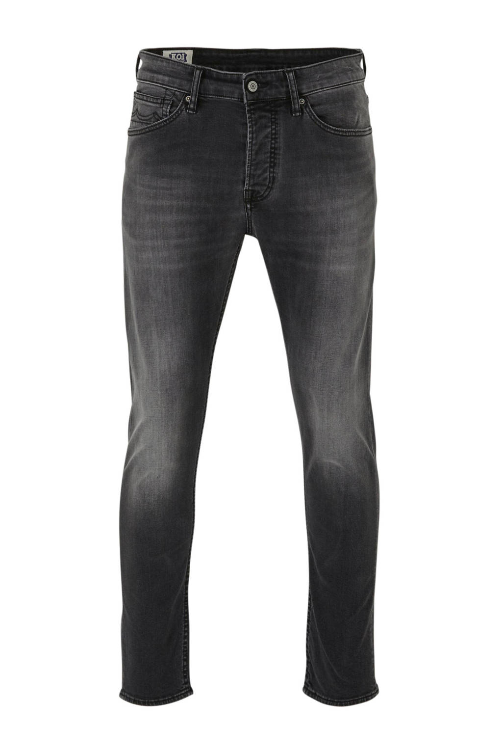 Kings of Indigo slim fit jeans John grey worn in, Grey Worn In