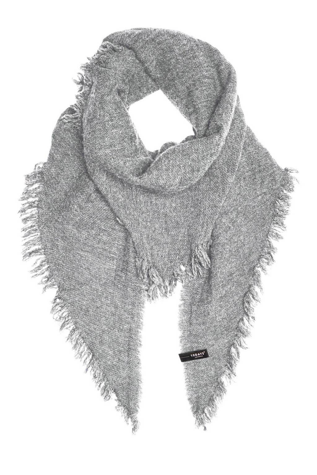 10DAYS sjaal, Lichtgrijs