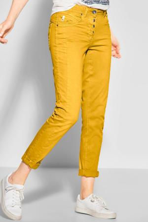 tapered fit broek Hailey geel