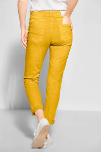 CECIL tapered fit broek Hailey geel, Geel