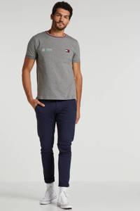 Tommy Hilfiger Tailored T-shirt lichtgrijs melange, Lichtgrijs melange