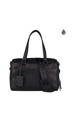 Rain Riley  leren handtas zwart