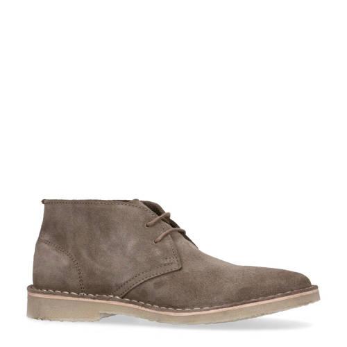 Sacha suède desert boots taupe