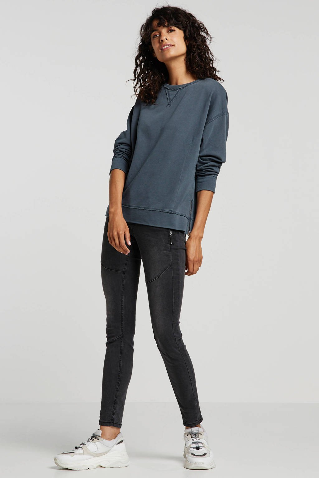 Tom Tailor Denim skinny jeans zwart, Zwart