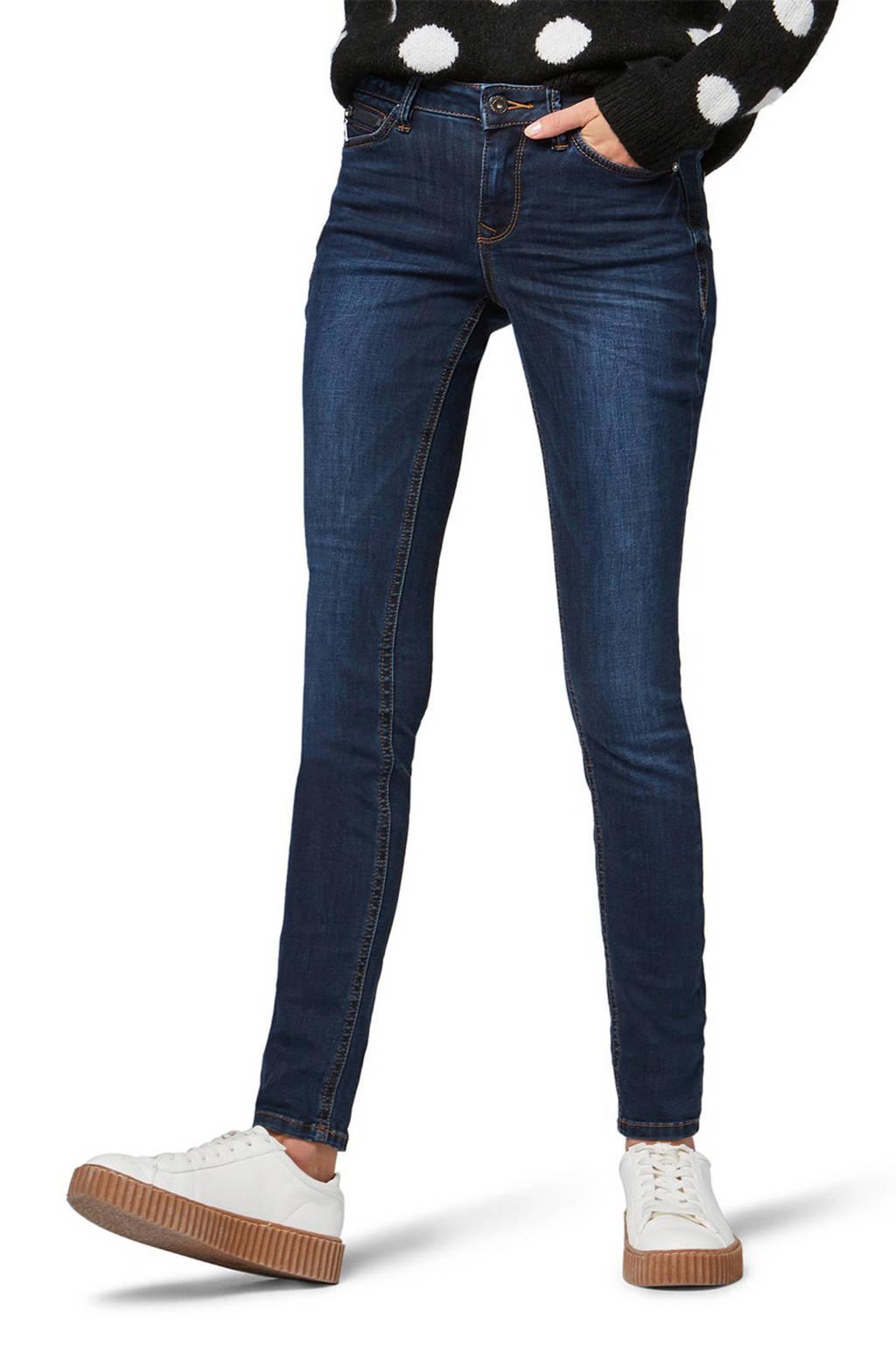 Tom Tailor Denim skinny jeans, Donkerblauw