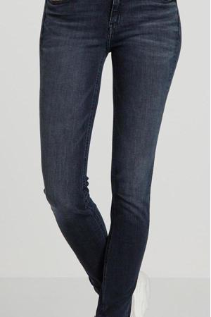 skinny jeans blauw/zwart