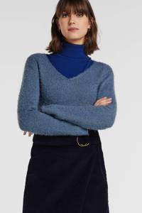 JACQUELINE DE YONG fijngebreide trui blauw, Blauw