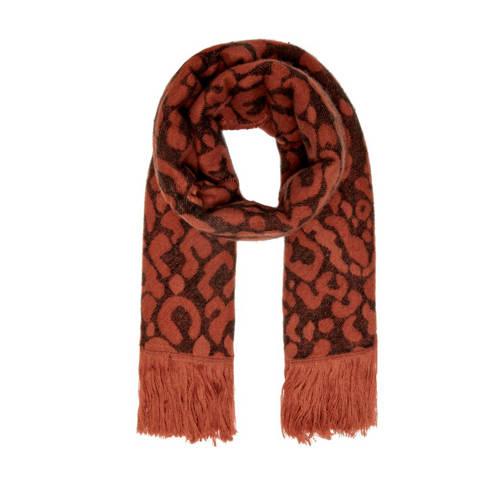 ONLY sjaal Mila bruin