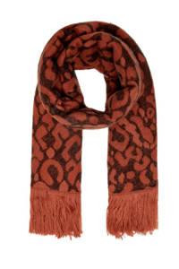 ONLY sjaal Mila bruin, Bruin