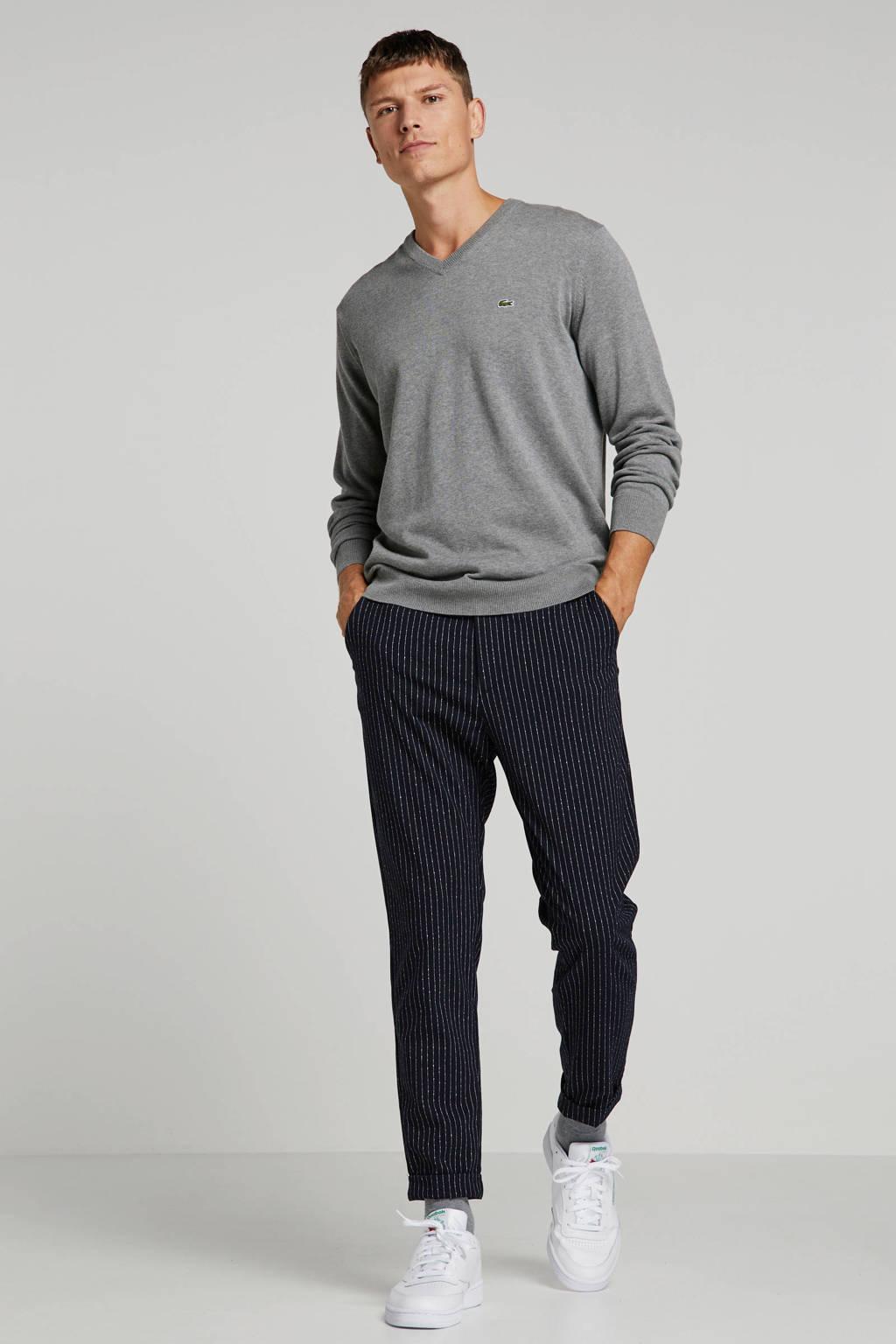 Lacoste gemêleerde trui grijs, Grijs