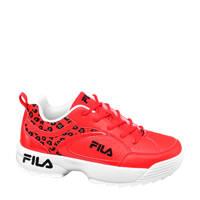 Fila   chunky sneakers rood/panterprint, Rood