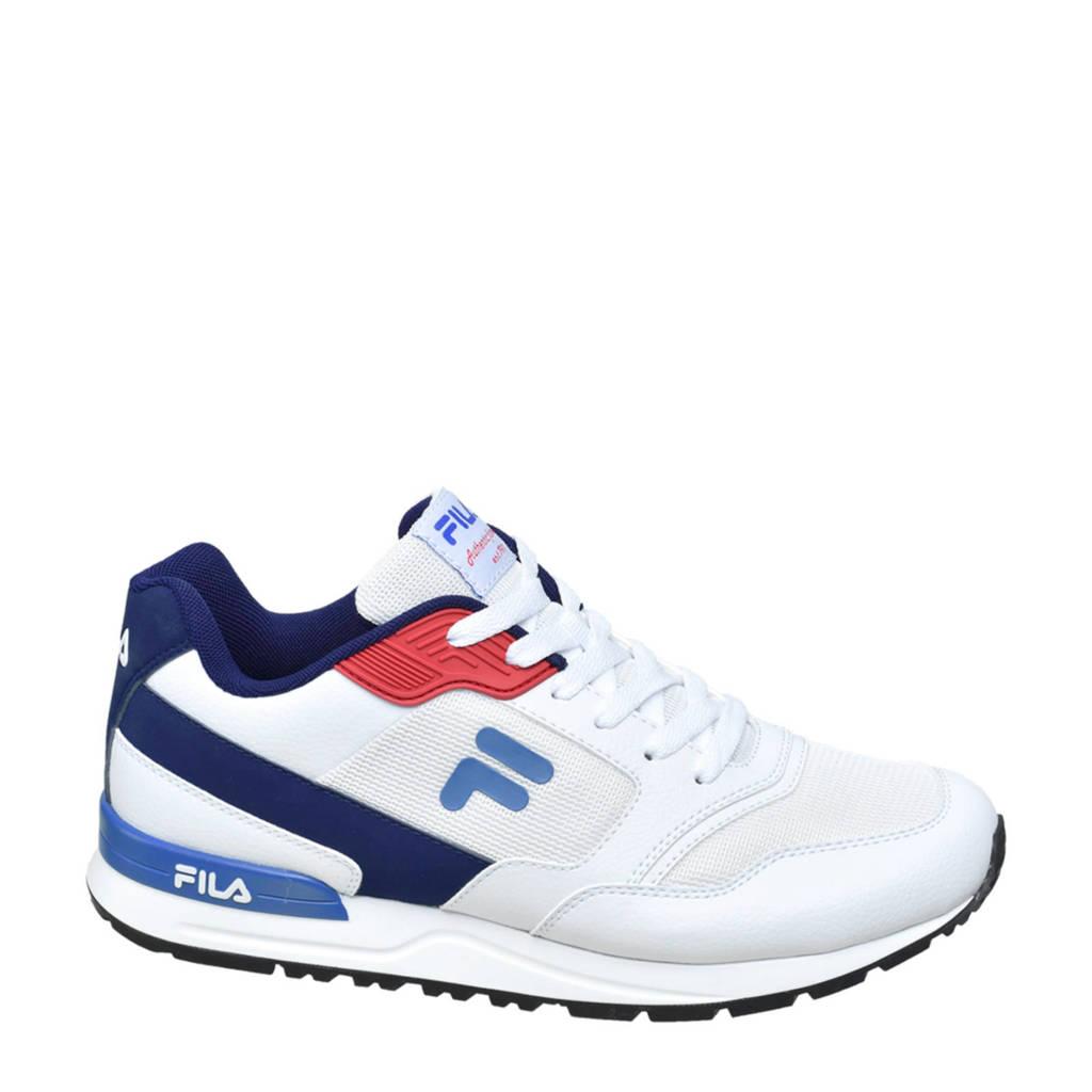 Fila   sneakers wit/blauw, Wit/blauw