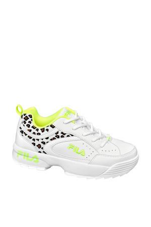 chunky sneakers wit/panterprint