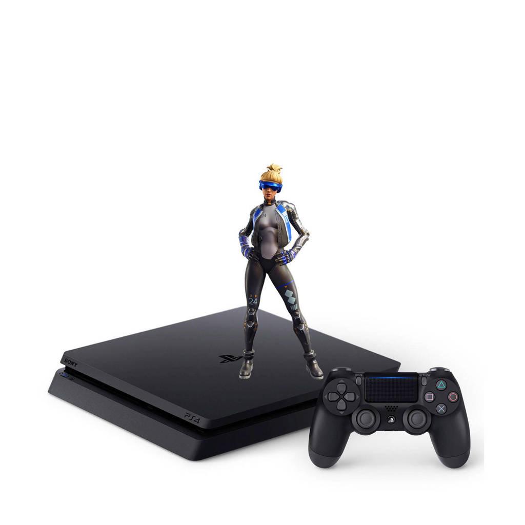 Sony PlayStation 4 Slim 500GB + Fortnite Neo Versa bundel, Zwart