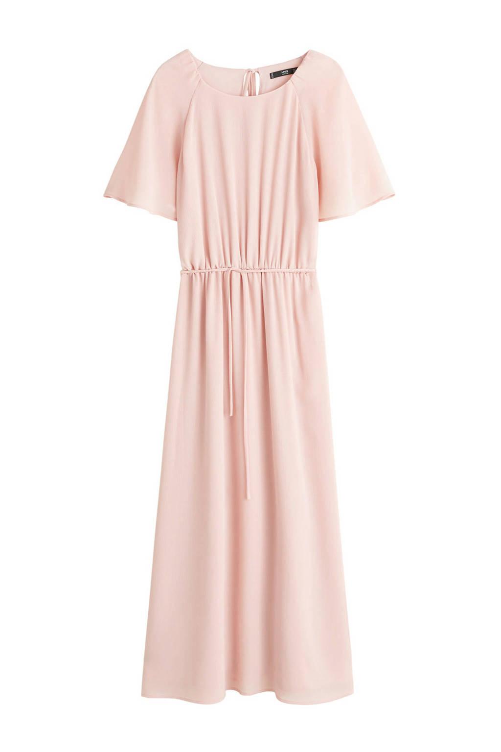 verschillende stijlen laatste stijl knap Mango jurk pastelroze | wehkamp