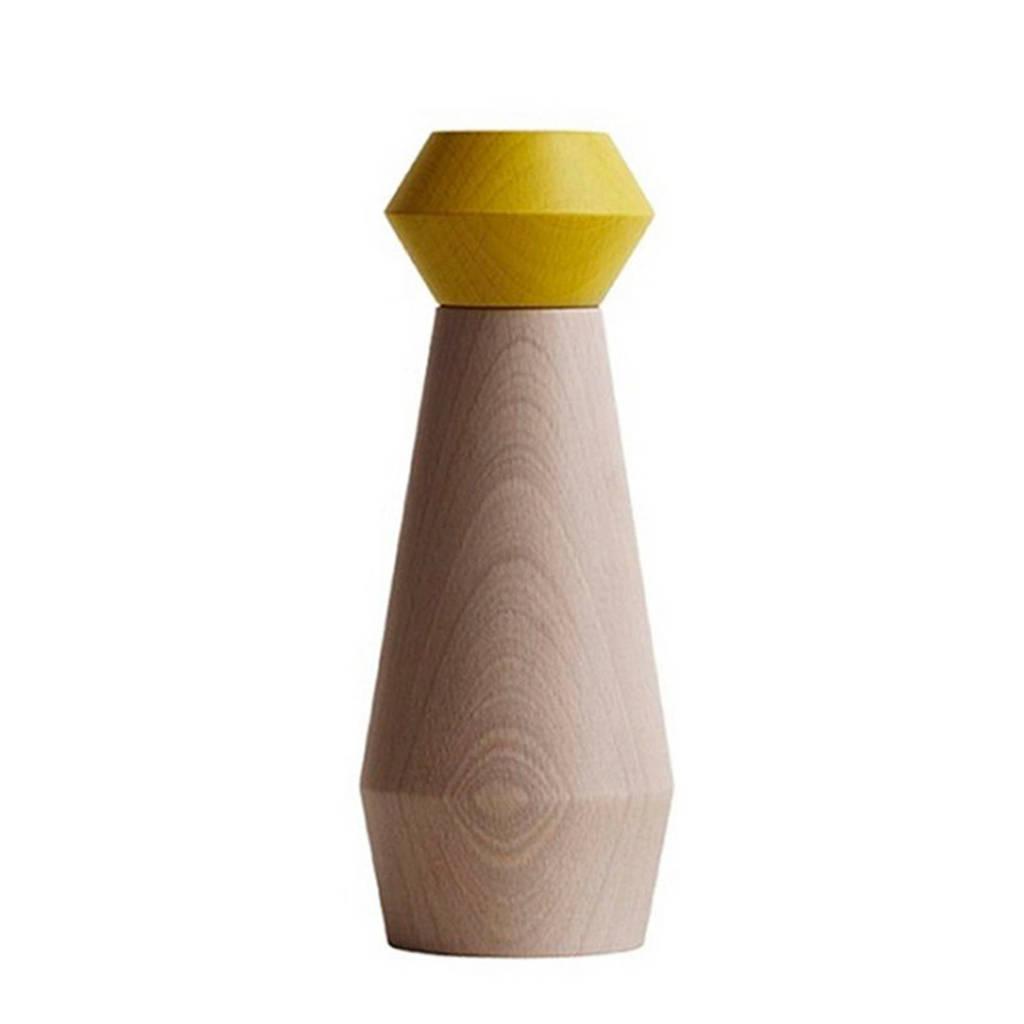 OYOY Living peper- en zoutstel (18 cm), Geel
