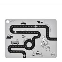 OYOY Mini placemat (34x45 cm), Lichtgrijs