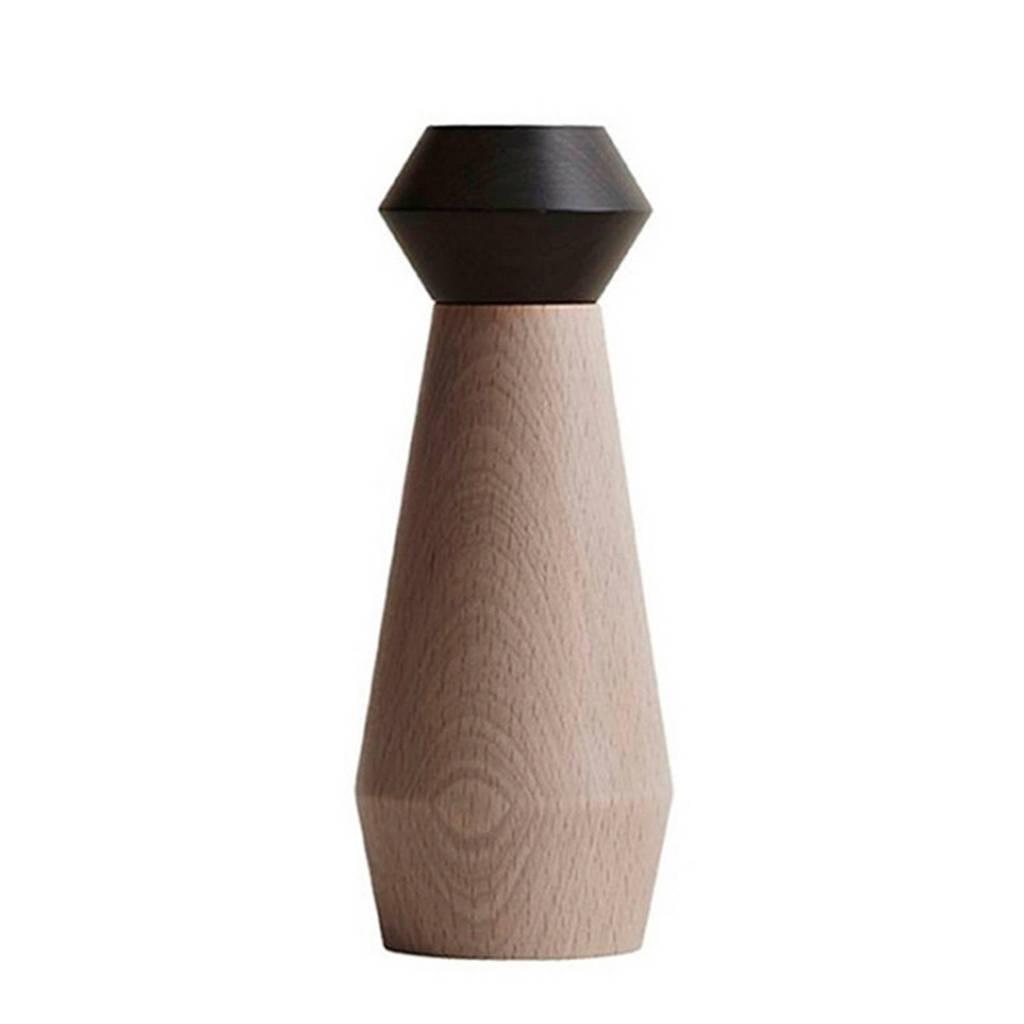 OYOY Living peper- en zoutstel (18 cm), Zwart/bruin