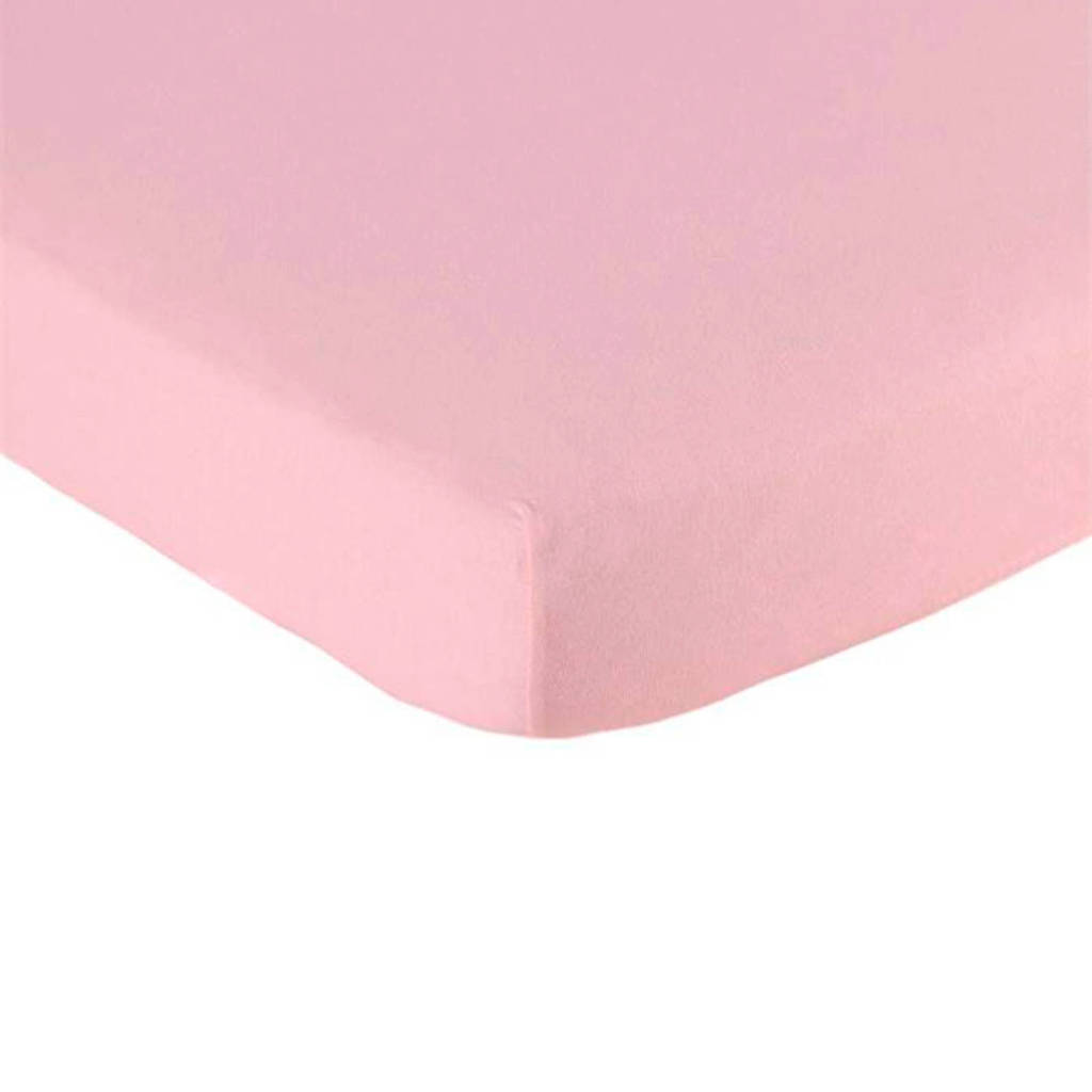 Briljant Baby katoenen jersey baby hoeslaken 60x120 cm, Roze