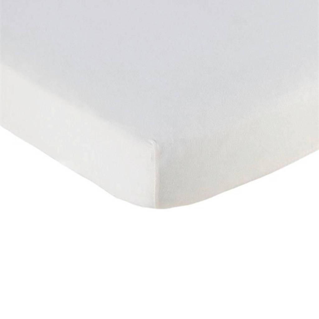 Briljant Baby katoenen geweven hoeslaken  60x120 cm, Wit