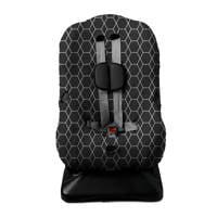 Briljant Baby autostoelhoes 1+ interlock zwart, Zwart