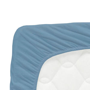 katoenen jersey hoeslaken 70x140 cm Grijsblauw