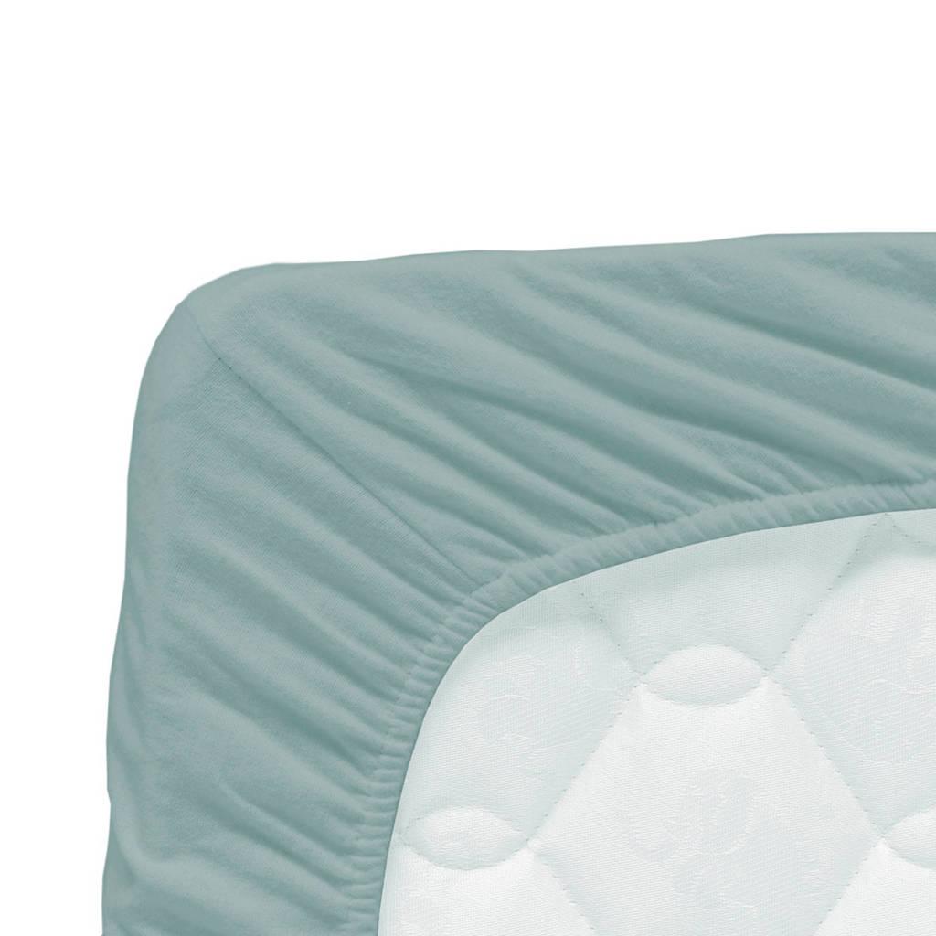 Briljant Baby katoenen jersey baby hoeslaken 60x120 cm Stonegreen