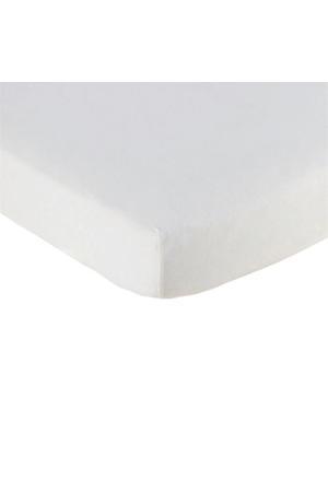 katoenen jersey hoeslaken 70x140 cm Wit