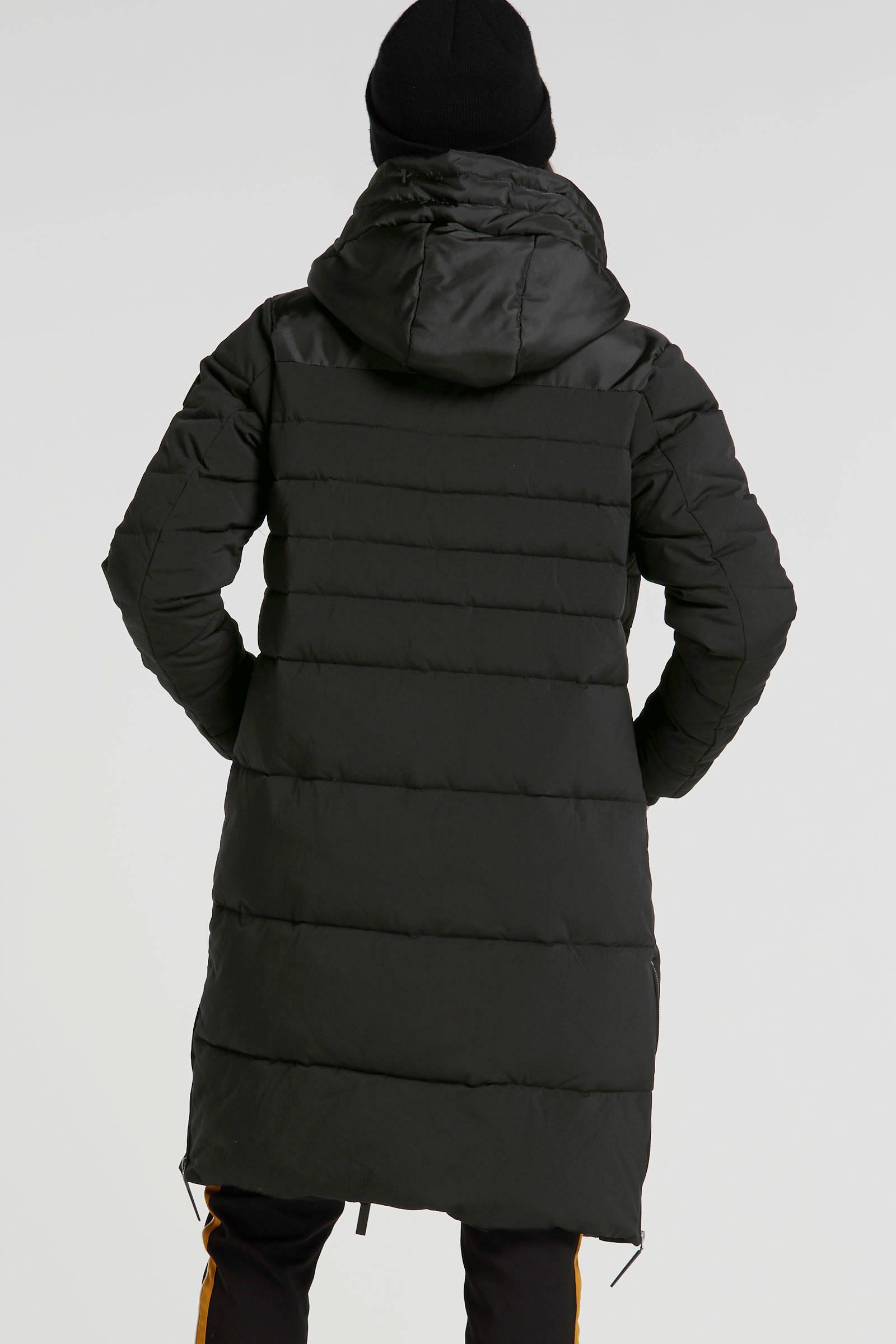 Giacomo gewatteerde winterjas zwart | wehkamp