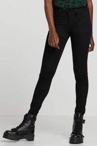 JACQUELINE DE YONG skinny jeans JDYNIKKI black denim, Zwart