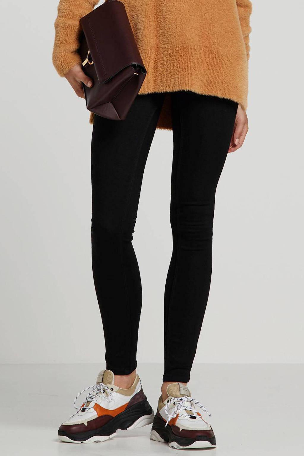 JACQUELINE DE YONG skinny jeans zwart, Zwart
