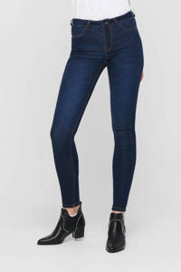JACQUELINE DE YONG skinny jeans donkerblauw, Donkerblauw