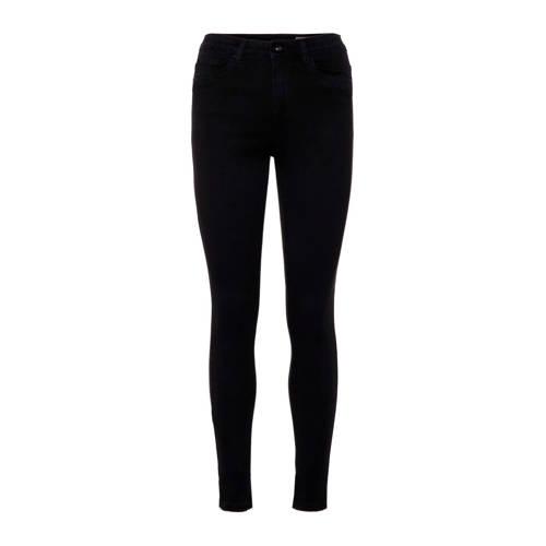 VERO MODA high waist skinny jeans zwart