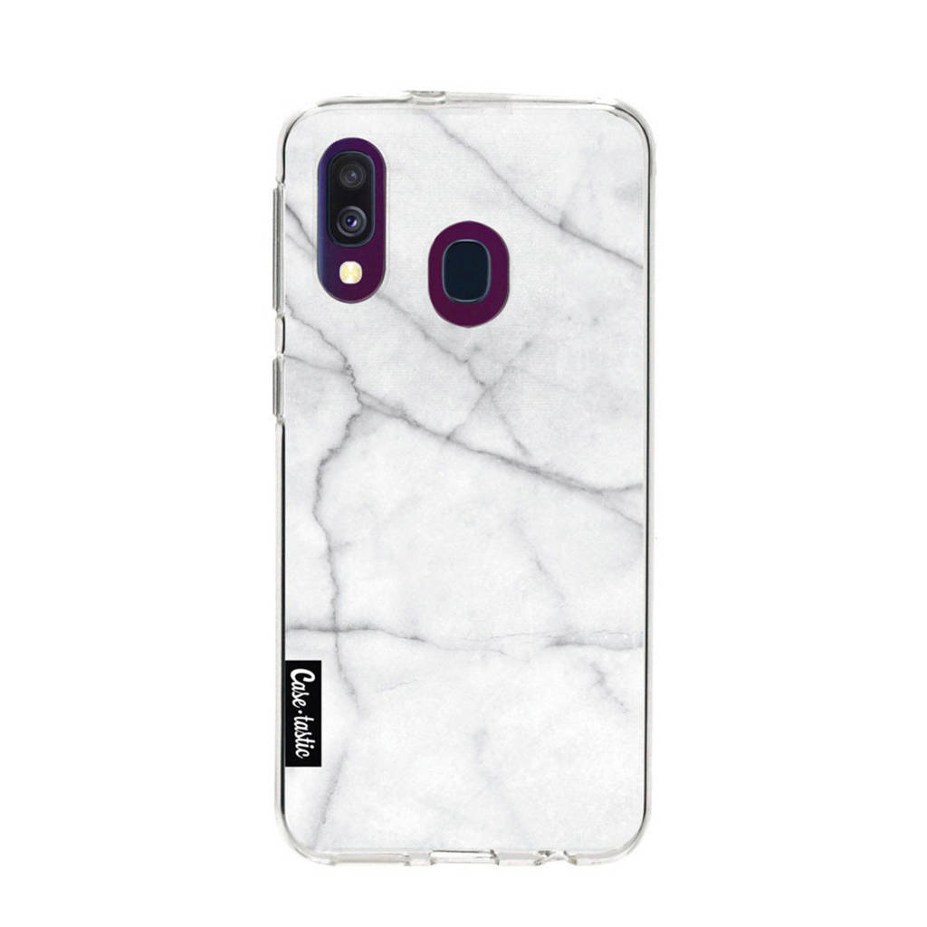 Casetastic Samsung Galaxy A 40 (2019) backcover, Wit