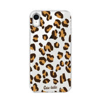 Casetastic Apple iPhone XR backcover, Bruin, transparant