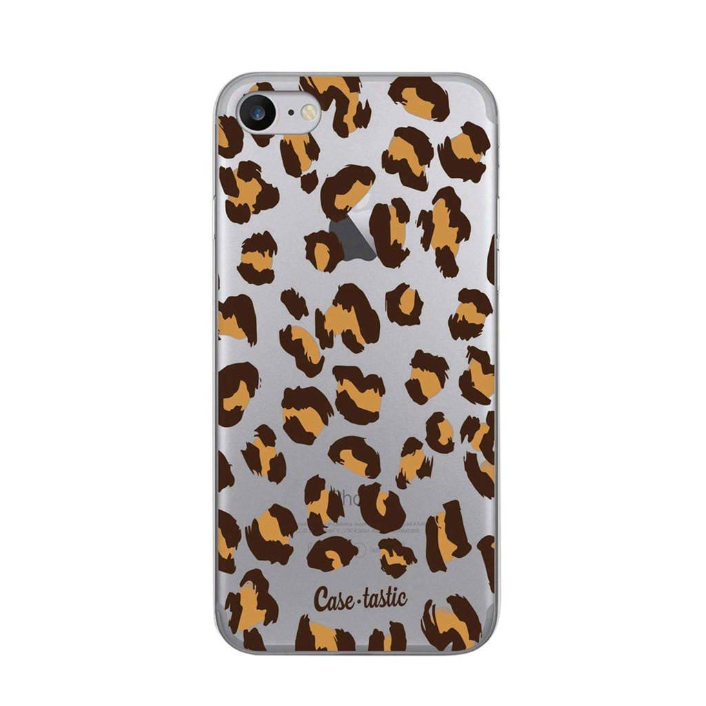 Casetastic Apple iPhone 7/8 backcover, Bruin Luipaard print