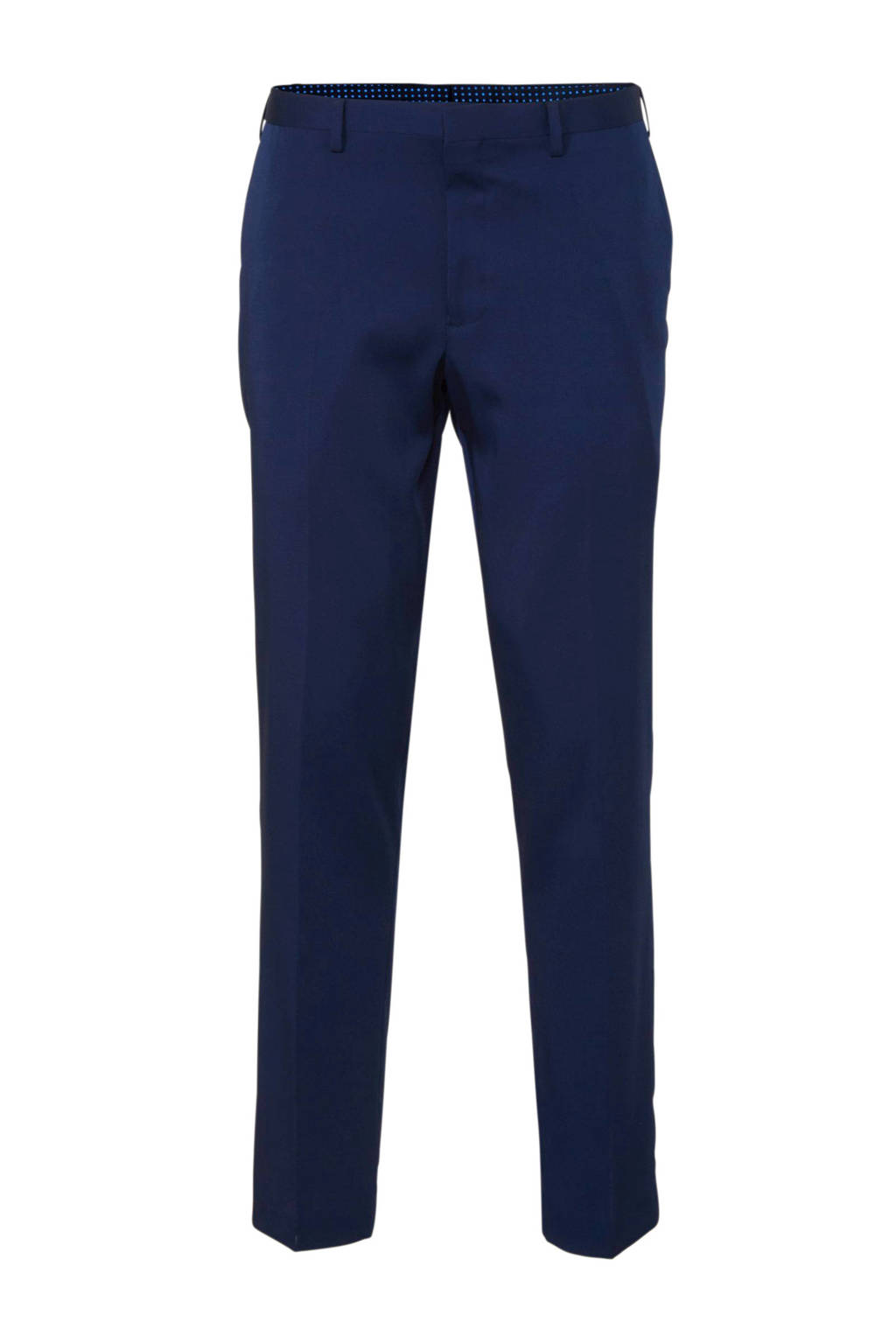 C&A Angelo Litrico regular fit pantalon donkerblauw, Donkerblauw